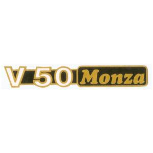 """adesivo in pvc per fianchetti MOTO GUZZI """" V50 Monza"""""""