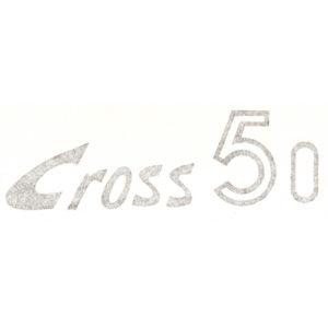 Adesivo in pvc per fianchetti MOTO GUZZI Dingo Cross 50