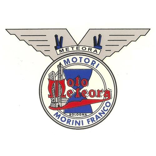 adesivo in pvc per serbatoio Moto Meteora
