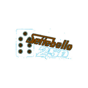 adesivo pvc per bauletti/fianchetti Moto Morini 250 settebello