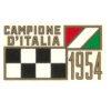 decalcomania trasferibile a secco per moto MORINI Campione d'Italia anno 1954 per serbatoio