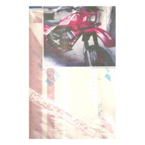 """Kit adesivi in pvc, colore bianco o rosso per MOTO MORINI """"KANGURO"""""""