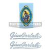 kit adesivi in pvc per bicicletta da corsa GINO BARTALI