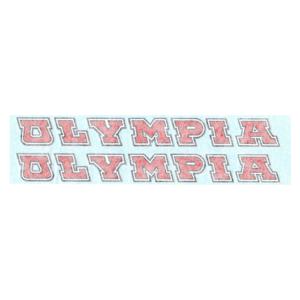 coppia adesivi in pvc per canna trasversale bicicletta OLYMPIA