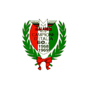 decalcomania trasferibile a secco per fianchetti moto MALANCA - Campioni d'Italia con alloro