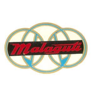 coppia adesivi in pvc per serbatoio ciclomotore MALAGUTI
