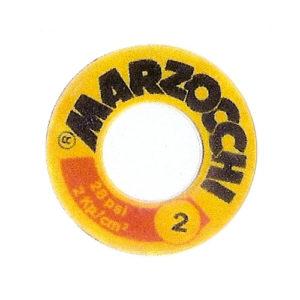adesivo in pvc per ammortizzatore MARZOCCI disponibile icon numero 2 e con numero 3