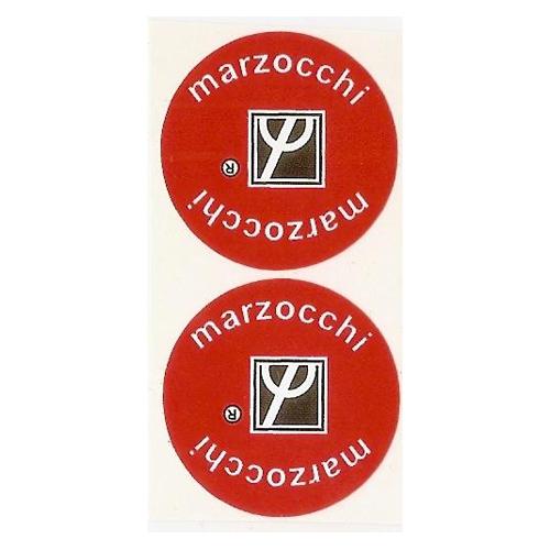 coppia di adesivi in pvc per ammortizzatori MARZOCCHI