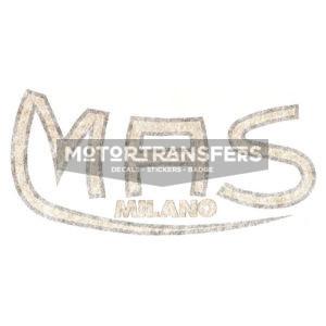 adesivo in pvc per serbatoio moto MAS