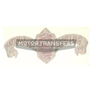 coppia di adesivi in pvc per serbatoio moto MATCHLESS