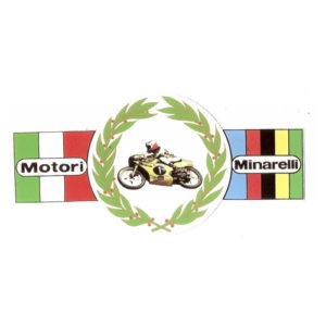 adesivo in pvc per carena MINARELLI motocicli da corsa