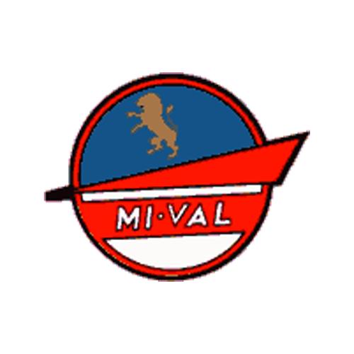 decalcomania trasferibile a secco per serbatoio e fianchetti moto MI-VAL