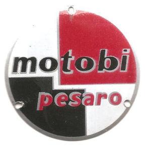 targhetta in metallo per carter motore e volano moto MOTOBI