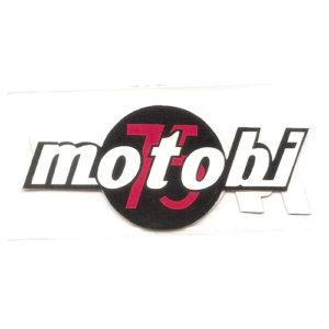 adesivo in pvc per MOTOBI 75