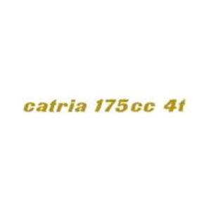 coppia decalcomanie trasferibili a secco per MOTOBI Catria 175 cc 4t