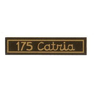 adesivo in pvc per canotto, manubrio MOTOBI 175 Catria