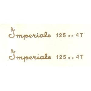 coppiaadesivi in pvc per serbatoio MOTOBI Imperiale 125 4T