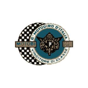 decalcomania trasferibile a secco per serbatoio MOTOBI Motogiro d'Italia vincitore di classe 175-250 -FMI