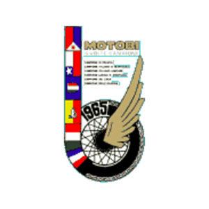 decalcomania trasferibile a secco per serbatoio MOTOBI Campionati 1965