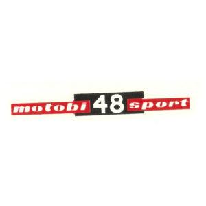 decalcomania trasferibile a secco per fianchetti o borsette MOTOBI 48 Sport
