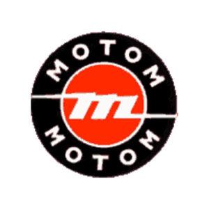 decalcomania trasferibile a secco per serbatoio moto MOTOM