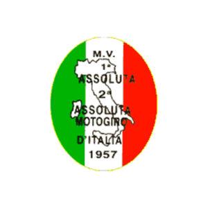 adesivo in pvc per serbatoio MV - ITALIA con tricolore