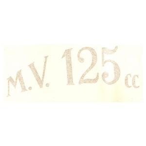 coppia adesivi in pvc per crestino MV 125