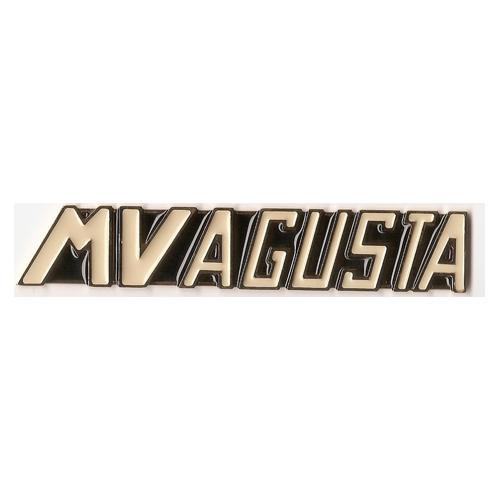 coppia placche in metallo e cromo per serbatoio MV 125 S