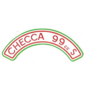 adesivo in pvc per serbatoio MV CHECCA 99 cc S