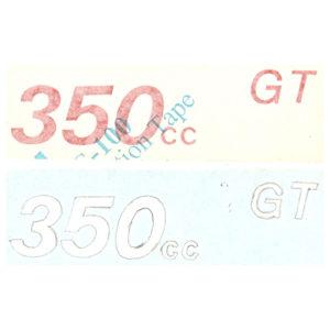 coppia adesivi in pvc per fianchetti MV 350 GT