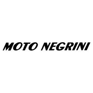 adesivo in pvc per serbatoio moto NEGRINI, colore nero, spaziato