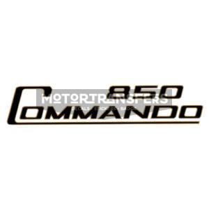 adesivo in pvc per fianchetti moto NORTON Commando
