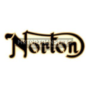 decalcomania trasferibile ad acqua per serbatoio NORTON