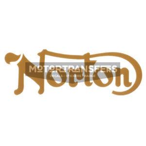 dedcalcomania trasferibile a secco per serbatoio moto NORTON