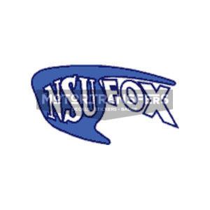 coppia decalcomanie trasferibili a secco per serbatoio moto NSU Fox