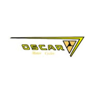 coppia adesivi inpvc per crestino ciclomotore OSCAR College