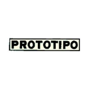 adesivo in pvc scritta PROTOTIPO per cclomotore OSCAR