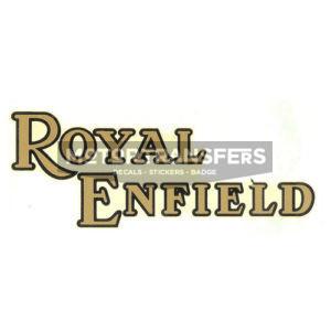 adesivo in pvc per serbatoio moto ROYAL ENFIELD