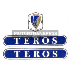 kit adesivi in cromo per bicicletta TEROS Pesaro