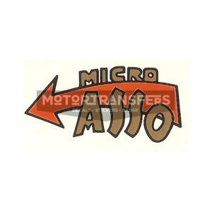 adesivo in pvc per micromotore MICROASSO