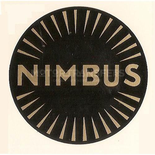 decalcomania trasferibile ad acqua per moto NIMBUS