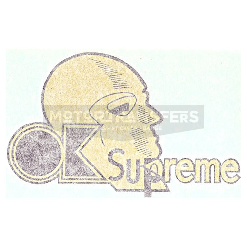 adesivo in pvc per serbatoio moto OK SUPREME