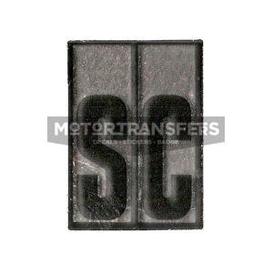 adesivo in pvc cromo per parafango posteriore ciclomotore Ciao Super Confort PIAGGIO