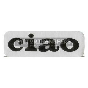 adesivo in pvc-cromo per serbatoio ciclomotore CIAO