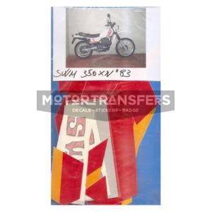 kit adesivi in pvc per moto SWM 350 xv