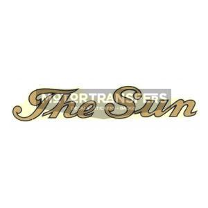 decalcomania trasferibile ad acqua per serbatoio moto THE SUN
