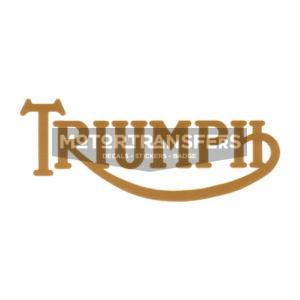 decalcomania trasferibile a secco per serbatoio moto TRIUMPH
