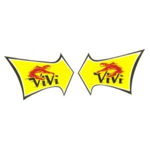 coppia di adesivi inpvc per ciclomotore VIBERTI