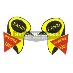coppia adesivi in pvc per ciclomotore ZANZI PIVIERE